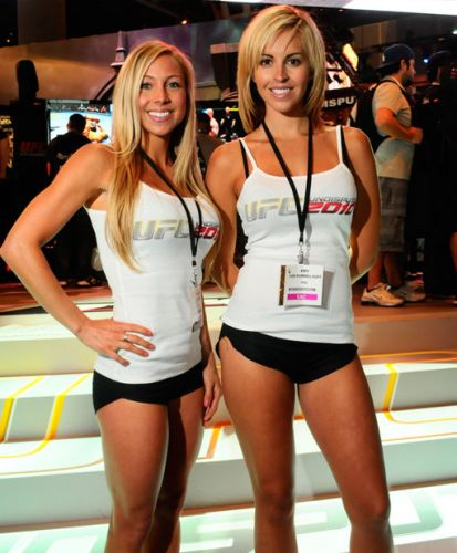 Se MMA é um esporte de contato, que tal entrar no ringue do UFC com essas gatas?