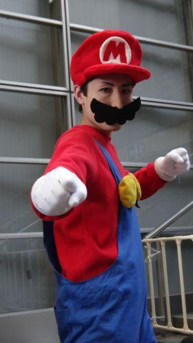 Uhuuu, its-a me, Mario! A Nintendo não participa da TGS, mas claro que o encanador não ficaria de fora da festa