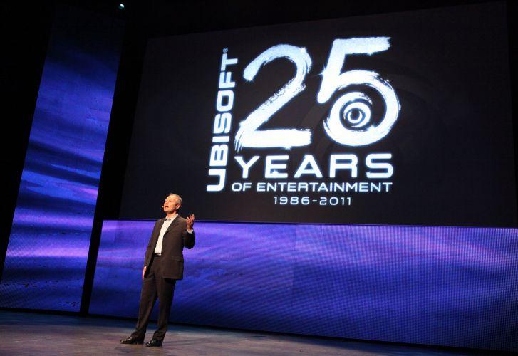 Yves Guillemot, CEO da Ubisoft, discursa na coletiva pré-E3 da produtora francesa