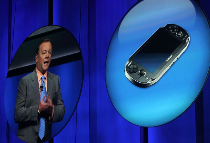 Jack Tretton, executivo americano da Sony, fala sobre o PS Vita no evento