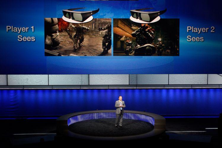 Jack Tretton anuncia televisor 3D que emite imagens diferentes para cada usuário