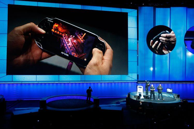 Novo console portátil da Sony, o PS Vita foi destaque no evento pré-E3 da empresa