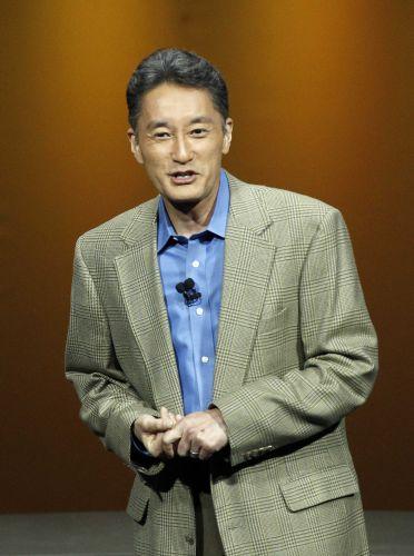 Kaz Hirai, presidente global da Sony, fala sobre o PS Vita em coletiva pré-E3 da empresa