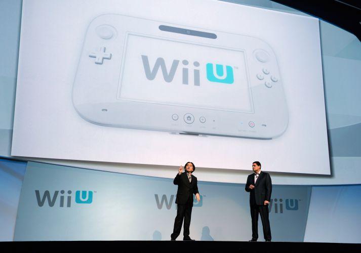 O Wii U e seu exótico controle com tela de toque foi a grande atração da conferência da Nintendo