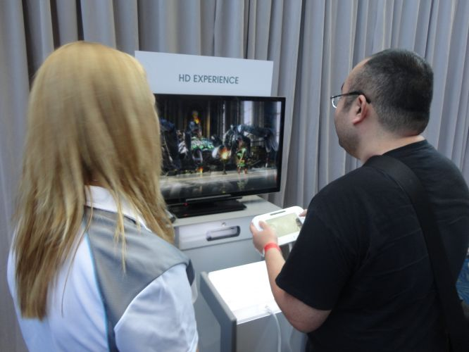 Jornalista testa o HD Experience do Wii U, experimento no qual é possível apreciar uma versão em alta resolução de