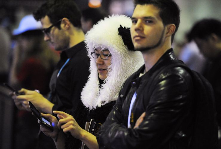 Aparentemente até mesmo os Pandas gostam de jogar 3DS