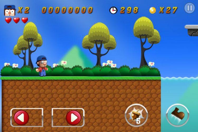 O quê? Um jogo de plataforma com um personagem bigodudo e de suspensório azul que enfrenta inimigos pulando sobre eles e usa canos para ir a outras fases? A descrição lembra um famoso game da Nintendo, mas