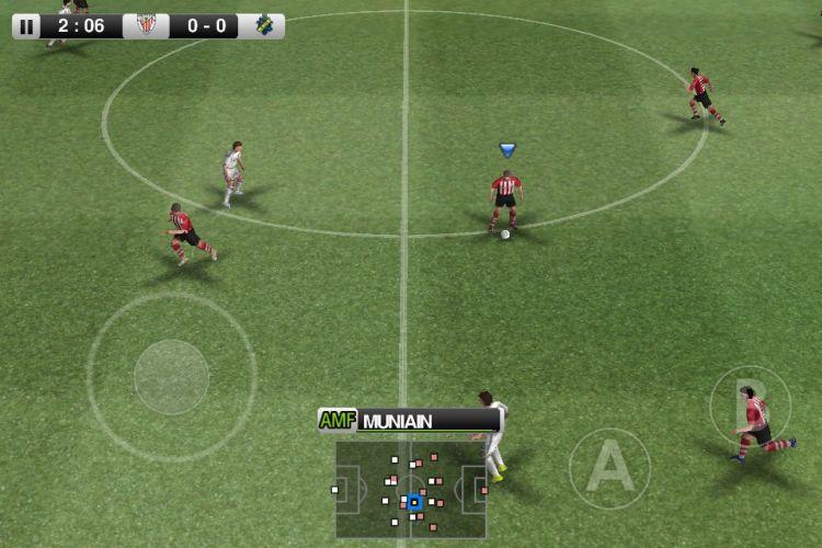 O futebol clássico da Konami também está no iOS. A parte gratuita de