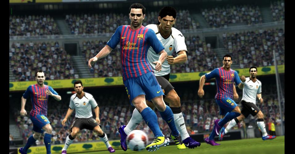 Em busca do trono de melhor jogo de futebol virtual,