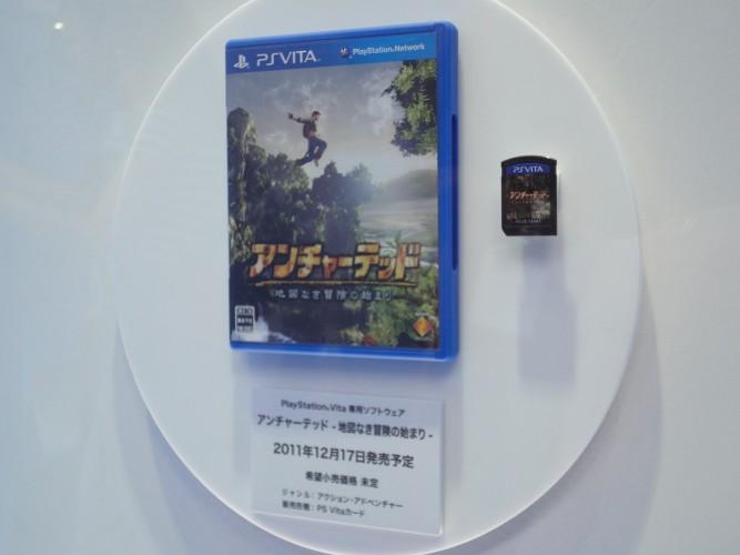 A caixa dos jogos de PS Vita lembram aquelas que embalam filmes em blu-ray, só que um pouco menor