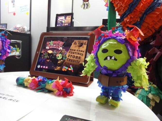 Zumbis e piñatas são o tema deste jogos para iPad