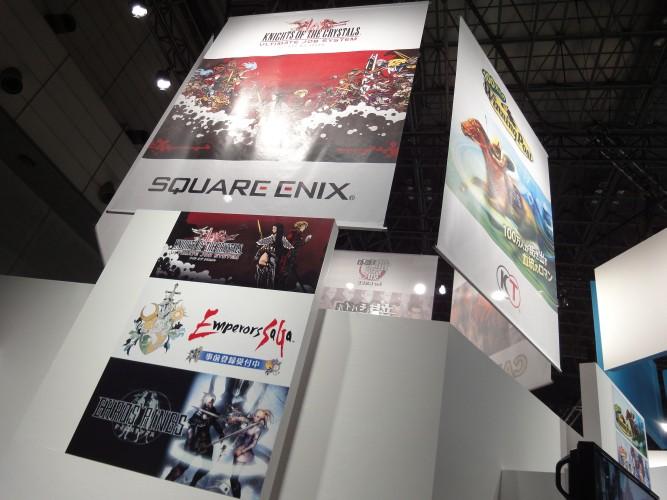 Uma das tendências da Tokyo Game Show 2011 foi a entrada de grandes produtoras no mercado de games para smartphones e tablets