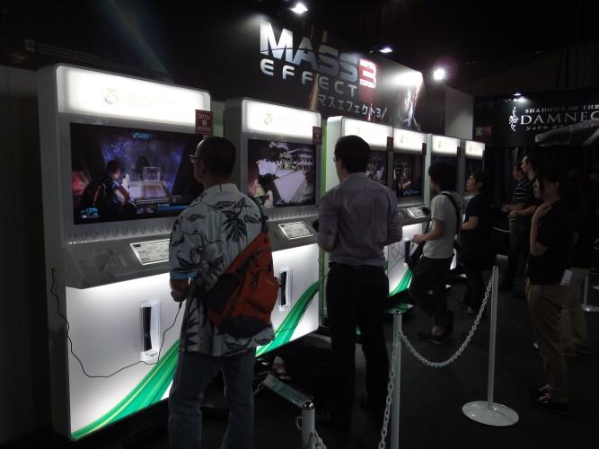 Como faz todos os anos, a Sega também mostra muitos games ocidentais, como