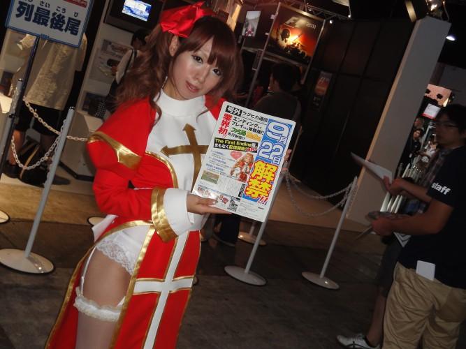 Promotora se veste como um personagem do RPG