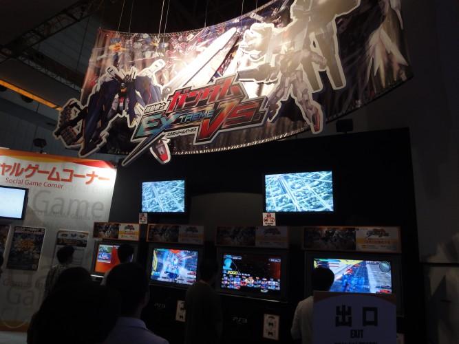 Gundam, campeão nacional de popularidade por lá, ganhou mais um jogo