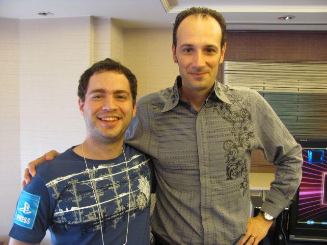 Alex Rigopulos, CEO da Harmonix, após entrevista exclusiva para UOL Jogos