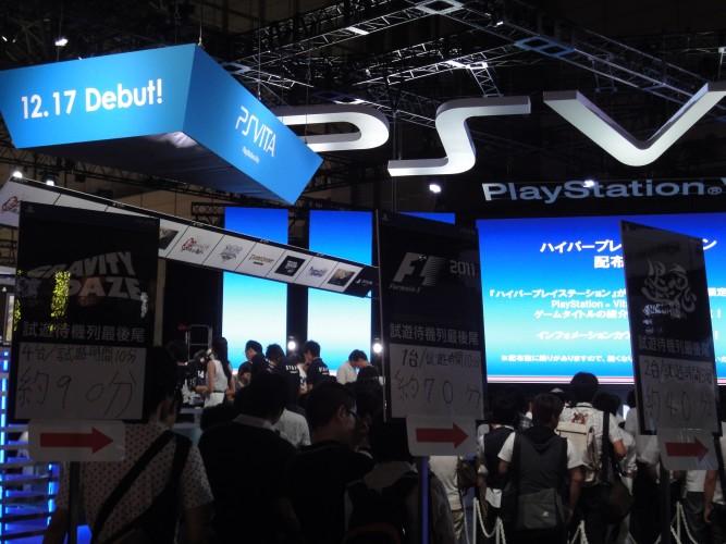 A procura pelo PlayStation Vita, mesmo nos dias de