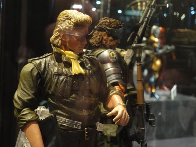 A Konami apresentou uma impressionante coleção de bonecos baseados na série