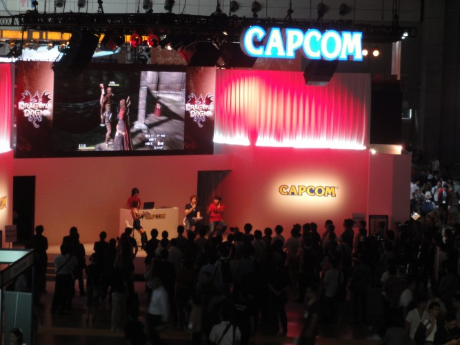 Capcom apresenta uma de suas novidades para a feira: