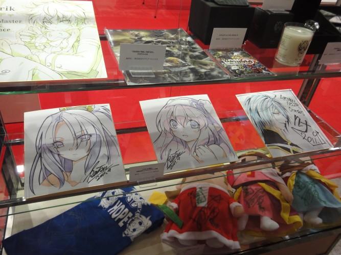 A Tokyo Game Show também foi uma oportunidade para arrecadar fundos para as vítimas do terremoto no Japão