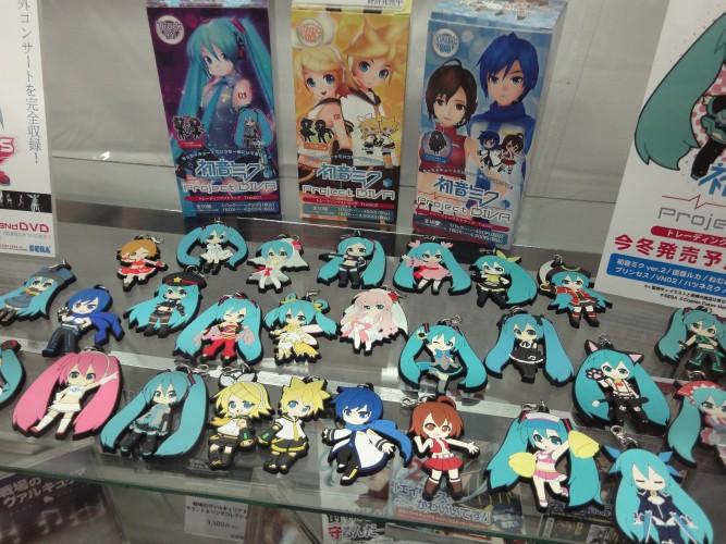 Miku Hatsune, uma espécie de ídolo pop virtual, foi tema de várias traquitanas