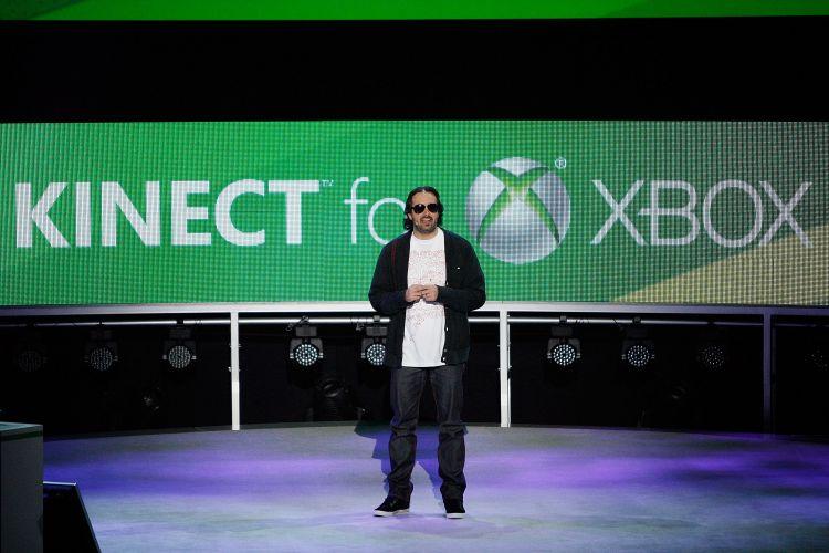 Kudo Tsunoda, porta-voz do Kinect para a Microsoft, aparece na conferência pré-E3 para falar sobre as novidades do periférico