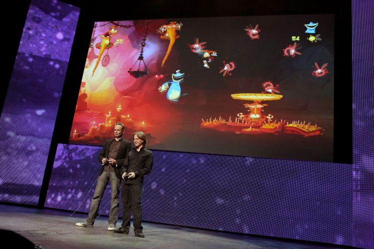 Michel Ancel, criador de Rayman, demonstra