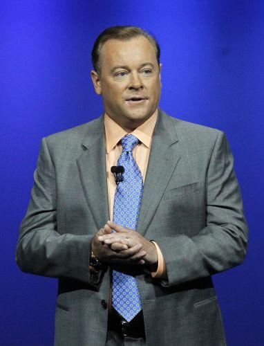 Jack Tretton, executivo da Sony nos EUA,comandou mais uma vez a conferência pré-E3 da empresa