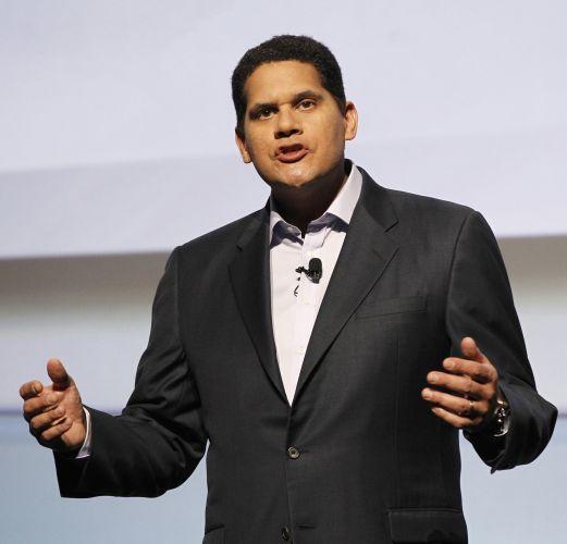 Reggie Fils-Aime, executivo americano da Nintendo, discursa em coletiva pré-E3 da empresa