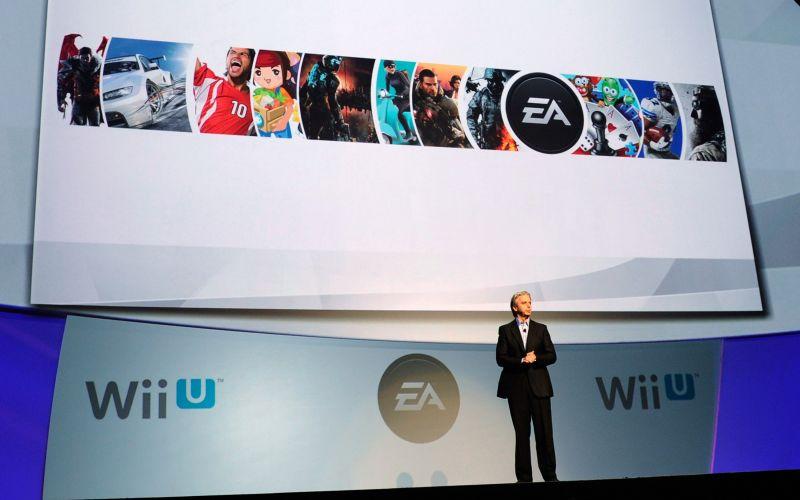 John Riccitiello, presidente da Electronic Arts, comenta novidades da empresa em apresentação da Nintendo antes da E3 2011