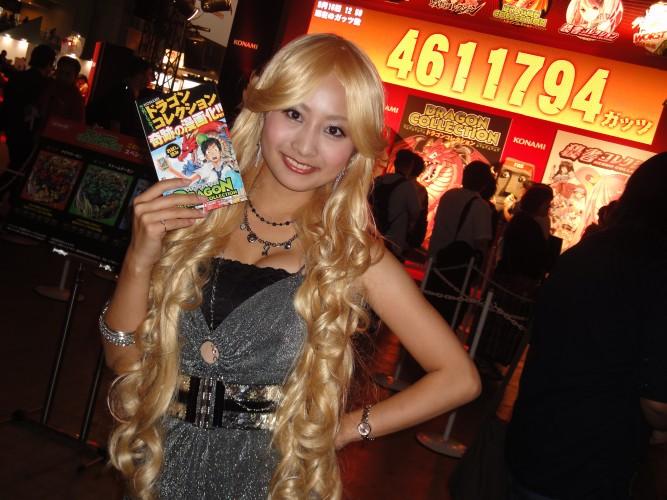 Promotora se veste a caráter na Tokyo Game Show 2011