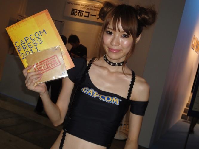 A Capcom trocou o uniforme amarelo dos anos anteriores pelo modelito negro em 2011